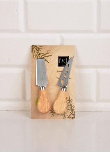Bayev Bambulu 2 Li Peynir Bıçağı-200592 Renkli